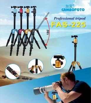 professional tripod photography for video camera with 360 degree ball head