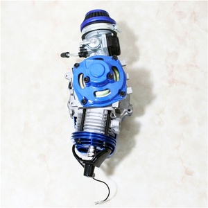 Hot sale outstanding strength 2 Stroke Racing fast mini bike parts blue 49cc engine for adult