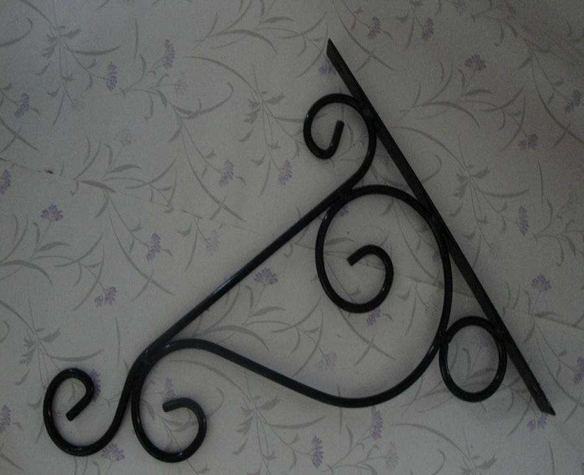 Decorative Wrought Iron Plant Hangers