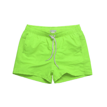 2019 Hot sell beachwear loose many colors quick dry short sport high quality solid color swimming trunks
