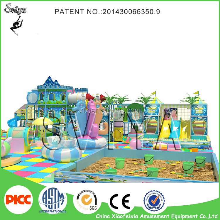 Candy House Plastic Kids Indoor Playground in shopping mall