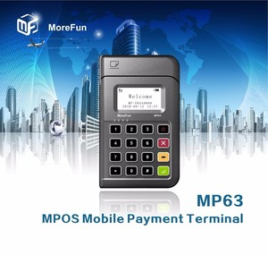 credit card chip reader writer bluetooth mpos with EMV PCI POS
