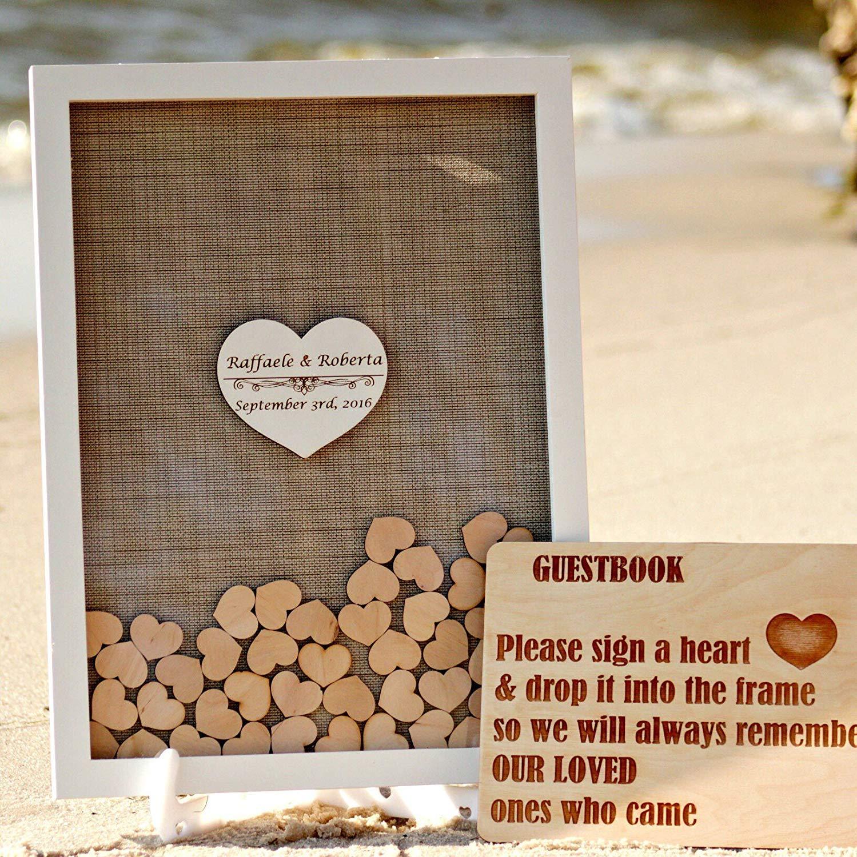 Alternative Wedding Guest Book Ideas: Buy PotteLove Wedding Guest Book, Wedding Guestbook,Guest