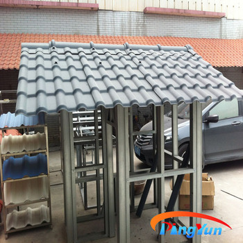 Alibaba New Material Interlocking Plastic Roof Tiles Pvc