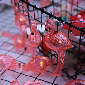 Factory Supply Led Lighted Flamingo Lights