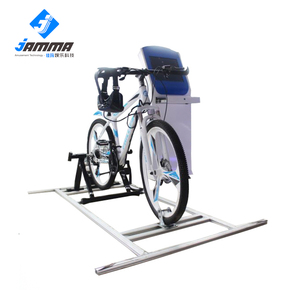 New design factory bicycle simulator entertainment ride 9d theater vr racing machine