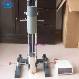 2L-15L lab paint manufacturing equipment hydraulic lifting disperser for paint