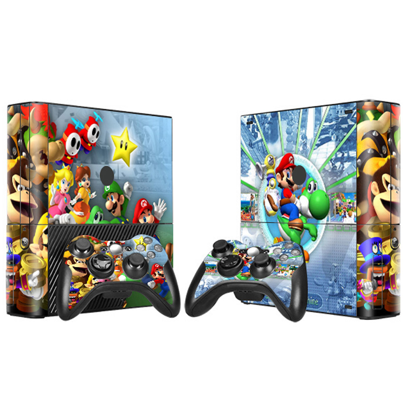 Professional manufacturer for Xbox 360 E skin new removable vinyl stickers
