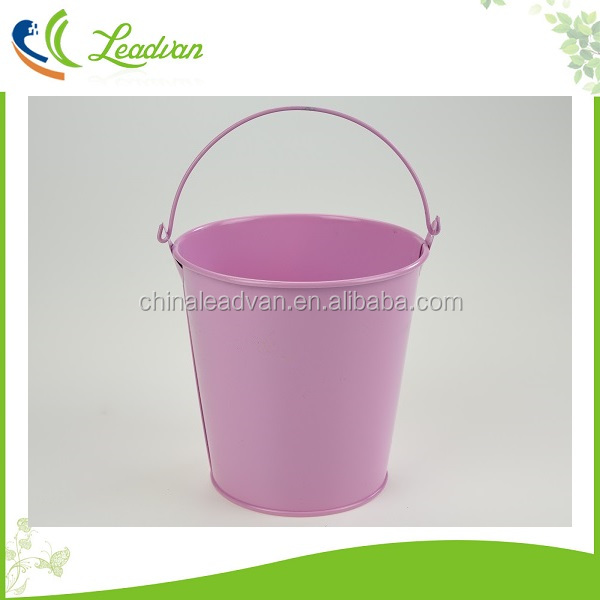 Garden 8cm zinc plant pots 10cm metal mini decorative 12cm galvanized metal small buckets for planting flowers