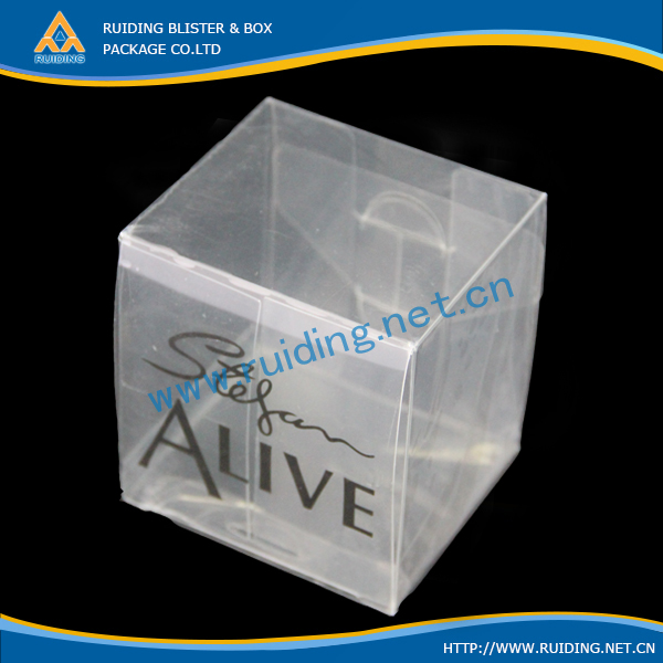 high quality clear offset printed wig gift packaging box