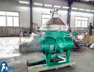 disc centrifugal separator for vegetable and animal oil