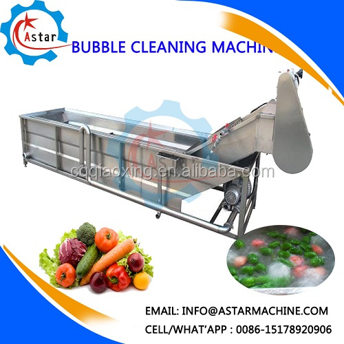 China Organic Vegetable Fruit Cleaning Cleaner Machine