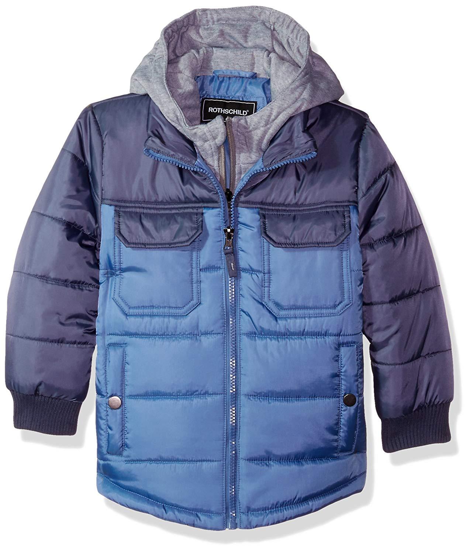 Yayun Yayu Boys Sherpa Fleece Lined Fashion Jacket Warm