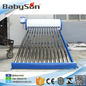 perfect new tech high quality compact non-pressure solar water heater for hard water with new silicon ring