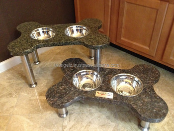 Granite Stand With Dog Bowl Buy Ceramic Dog Bowl With Stand