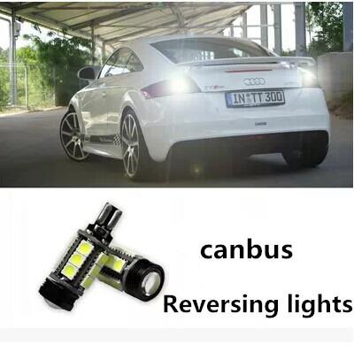 Автомобильное освещение T15 5050 COB 12LED заднего хода 12 В белый автомобиль CD00079