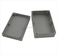 Waterproof IP67 Electrical Junction Box Die Cast Hinged Aluminum Enclosure 220*145*75mm
