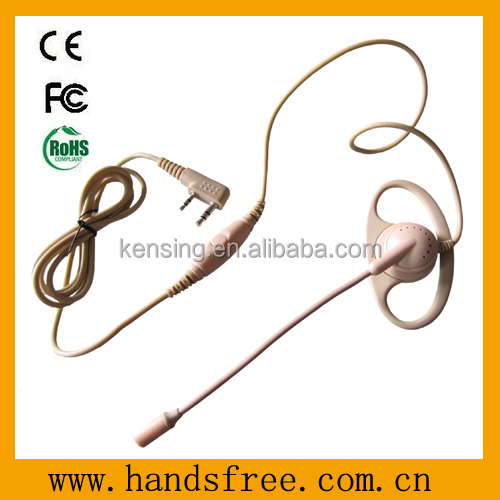 Two way radio Earhook with VOX