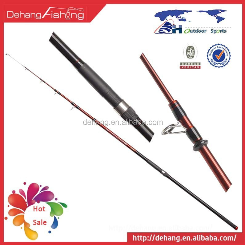 2015 New Carbon Fiber Best Fishing Tools Telescopic 4.2 Meter Surf Spinning Rod