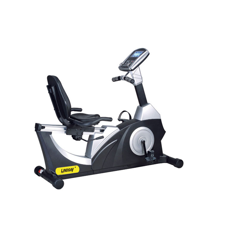 Gym club use exercise bike commercial use fitess bike/easy installment cardio LS-C0002 recumbent bike fitness equipment