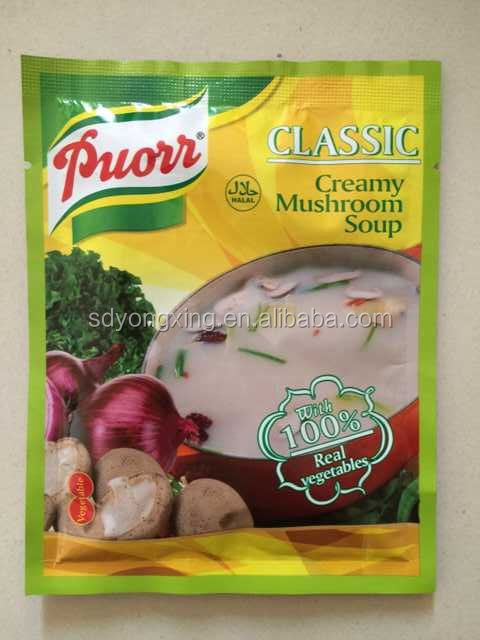 Halal Classic Creamy Mushroom Soup With 100% Real vegetables