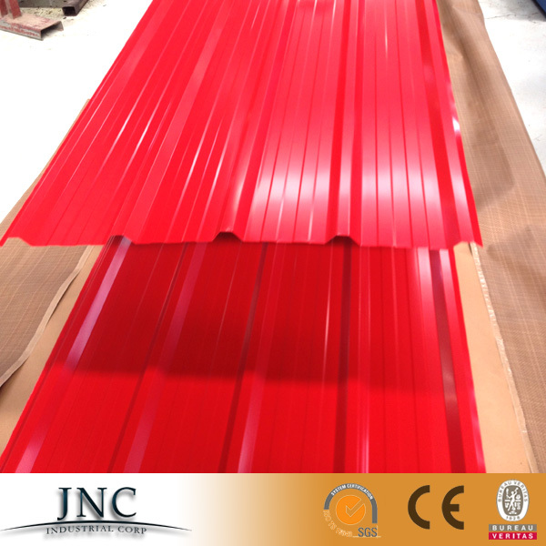 Alibaba hot sale corrugated PPGI steel/metal/iron roofing sheet in RAL color