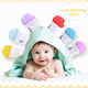 2018 New Baby Animal Shape Silicone Teething Mitten Silicone Teething Gloves for Baby