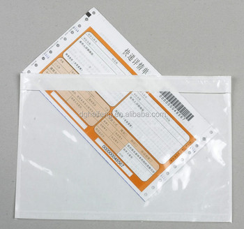 Pe Self Adhesive Packing List Envelope 2014 Buy Self