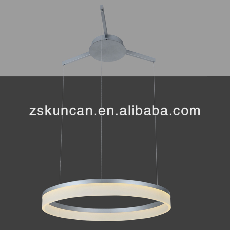 contemporary LED office pendant light