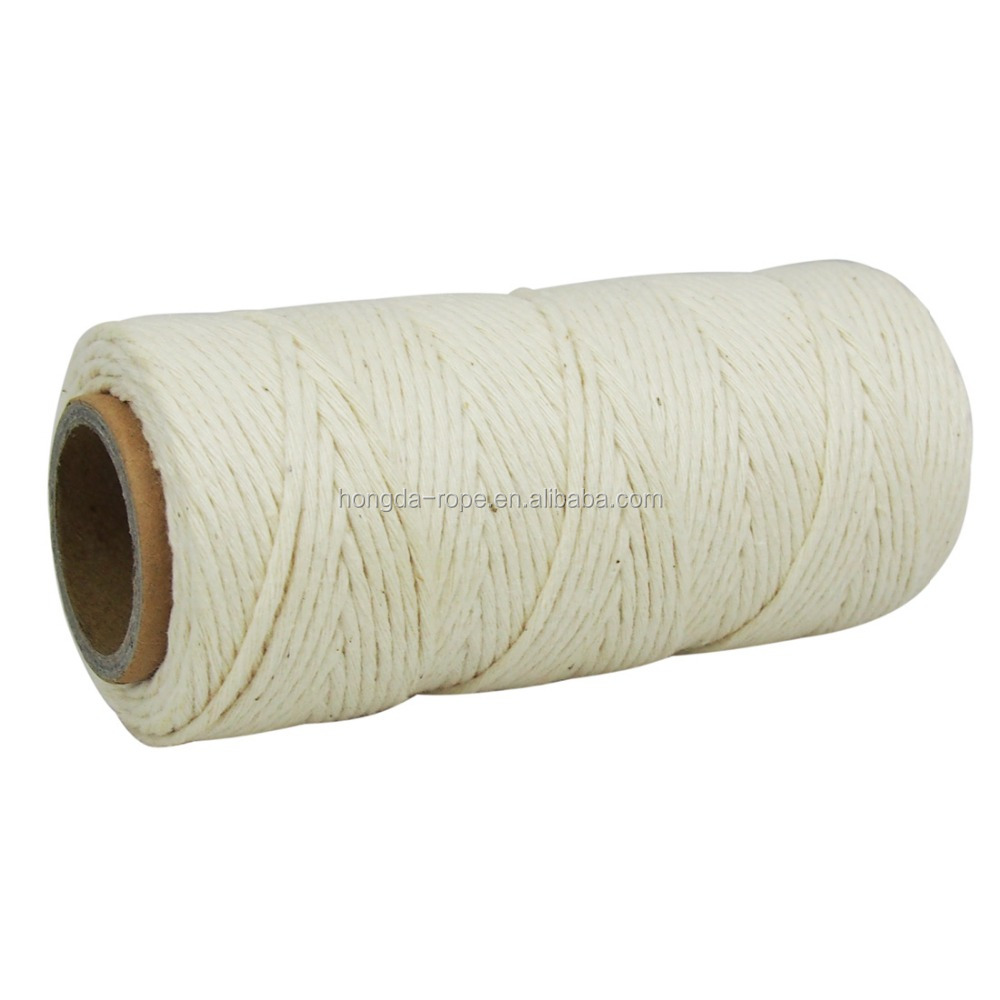 1.5 mm X 500 ft nature twisted cotton cooking twine butchers twine