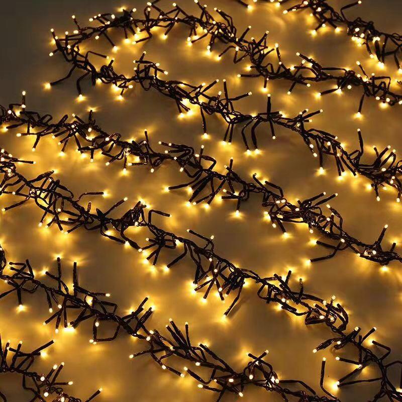 ROPIO garden decorative christmas starry led firecracker cluster light