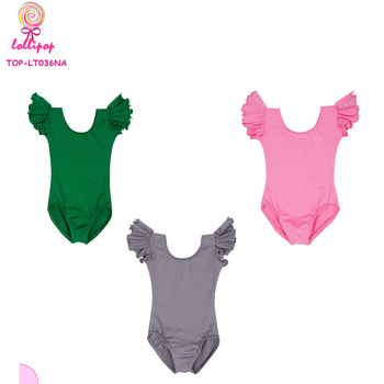 ce7610c2b Wholesale Yiwu Kids Costume Leotard Stretchy Toddler Flutter Wing ...