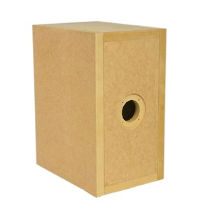 good quality dj speaker cabinet sound box FF125WK provided in raw panels  ready-to-build (MDF wood, thickness 19 mm) with MDF