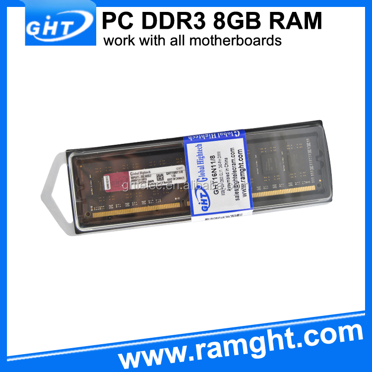OEM brand welcome supplier ddr3 8gb memory