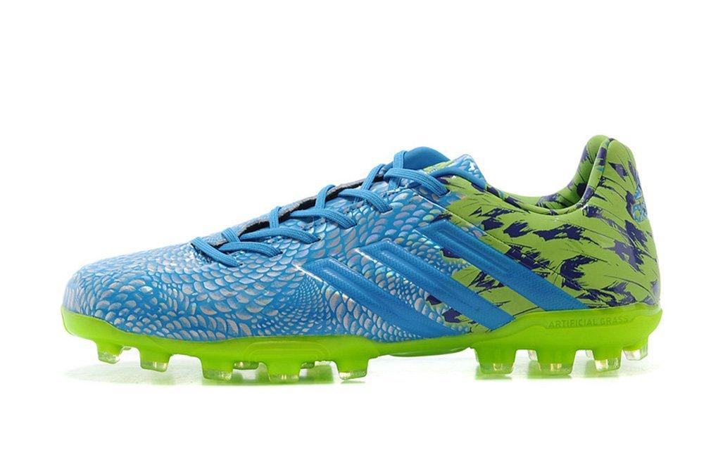 59190ab87 Get Quotations · ADF0OTST Generic Mens KAKA VI 6 Predator LZ Carnaval TRX  AG - BlueSlime Low Football Shoes