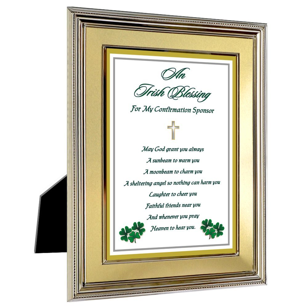 Buy Sponsor Confirmation Gift - Thank You Poem for Sponsor in Gold ...