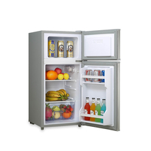 BCD-98B 98liter household use small double door refrigerator and freezer