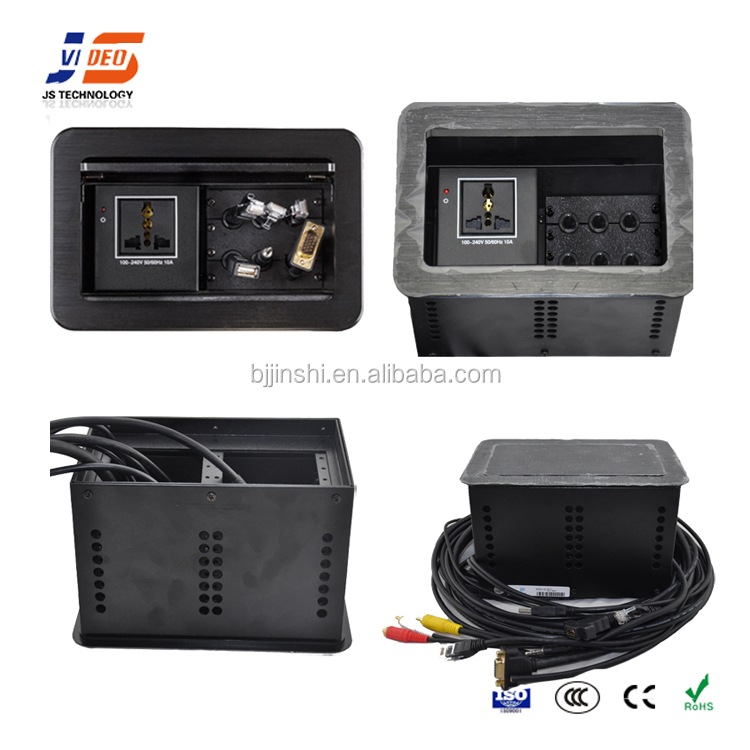 Js-611 Ce Table Built-in Socket With Hdmi+usb