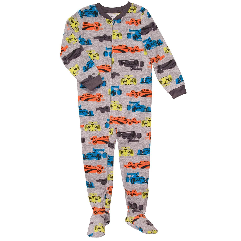 3aba72f14c72 Cheap Kids Footed Fleece Pajamas
