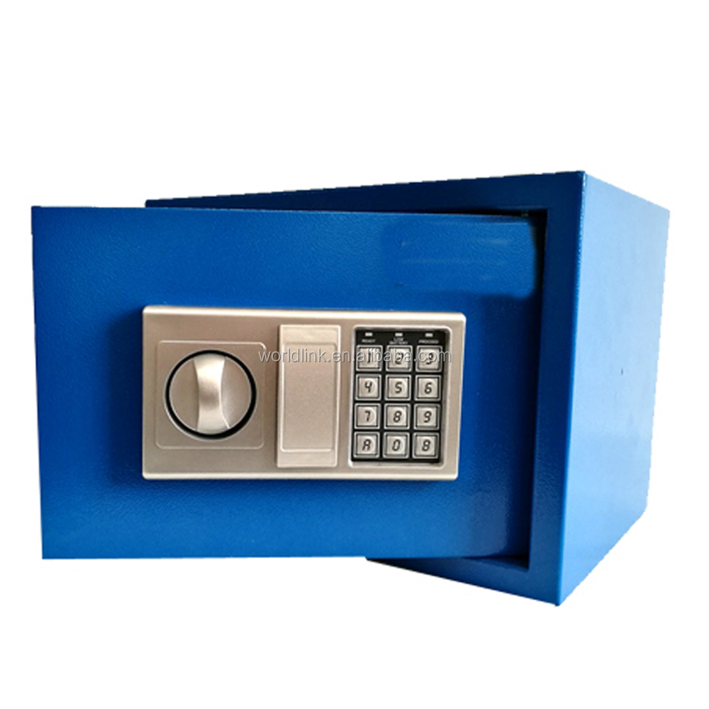 Electronic Lock Safe Box/Key Lock/ Steel Small Size Safe Case
