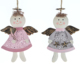 Hot Selling Metal Christmas Angel Ornament Festival Gift Decorations