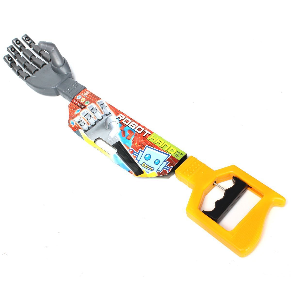 Get Quotations · ZUINIUBI Plastic Robot Claw Hand Grabber Grabbing Stick  Kid Boy Toy Move and Grab Things 6d4d6df22d24