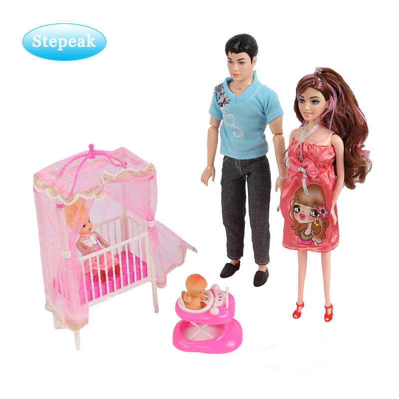 11.5 inch american girl doll and baby doll educational toy