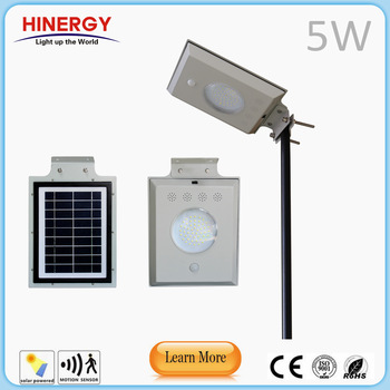 led lamp 5W 8W 12W solar wind street light