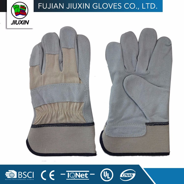 High Quality Keep Safe Non Slip Multipurpose Working Leather Gloves