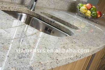 Indian Kashmir White Polished Granite Kitchen Countertop Buy