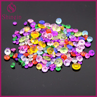 Colorful Crystal Point Back Acrylic Rhinestones for jewelry making