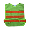 Green mesh fabric police safety vests reflective