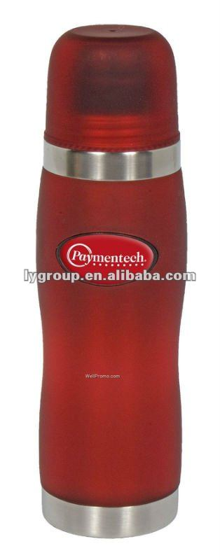 18/8 Stainless Steel and acrylic thermos ,5000ml bullet shape stainless steel vacuum flask
