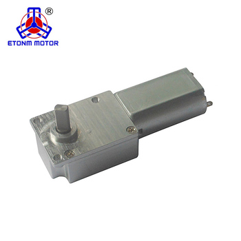 low noise small dc gear motor 12v 30rpm.